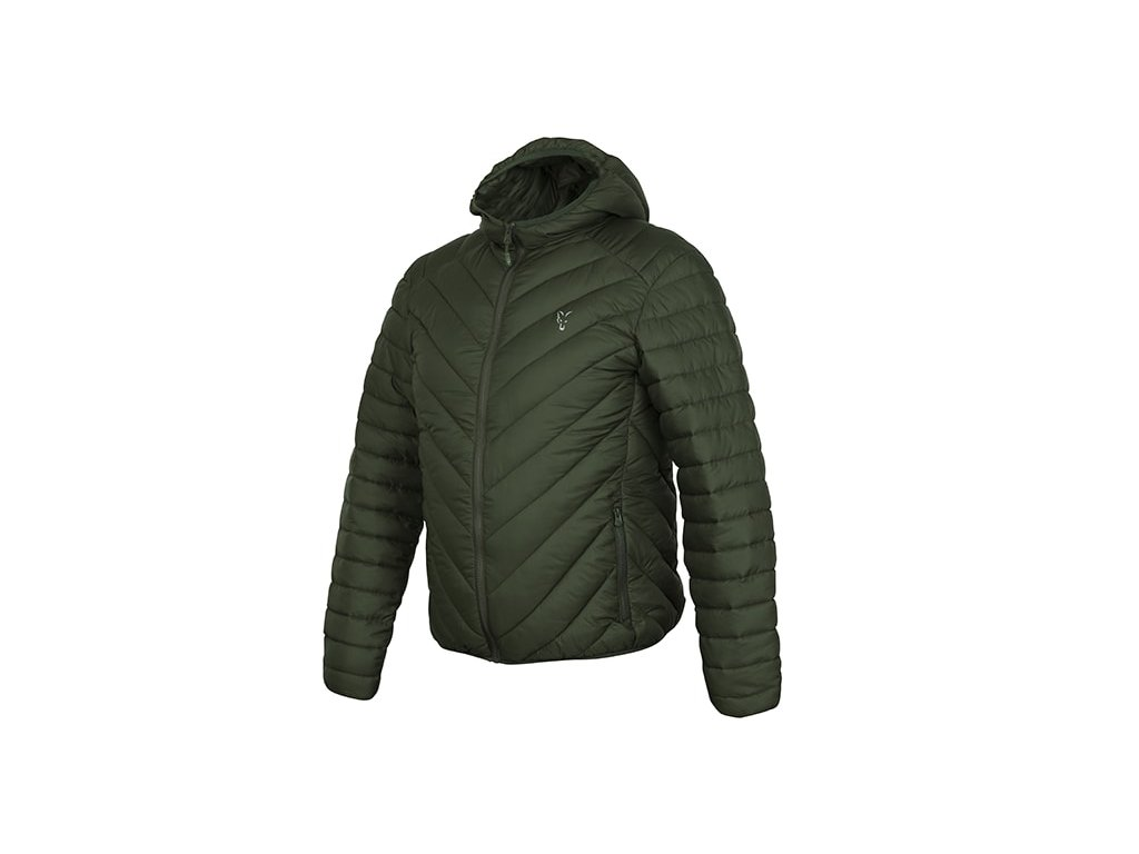 Fox Bunda Collection Quilted Jacket Green/Silver, vel. L