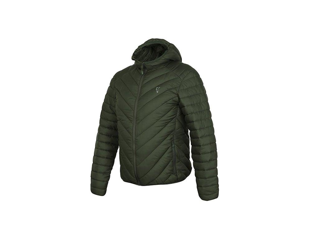 Fox Bunda Collection Quilted Jacket Green/Silver, vel. XL