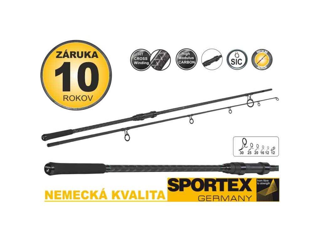 SPORTEX Competition Carp CS-4 Stalker 3,00m 3,00lbs 2díly