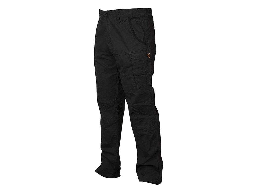 Fox Kalhoty Collection Black & Orange Combat Trousers  vel. XL
