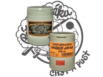 Suchá obalovačka Drůběží játra - 250 ml