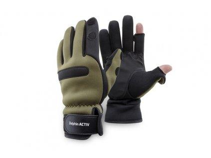 Delphin Neoprénové rukavice Delphin ACTIV - XL