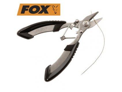 Fox Edges Kleště na šňůrky Braid blades XS
