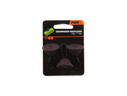 Fox edges zadní olovo downrigger back leads - 43g