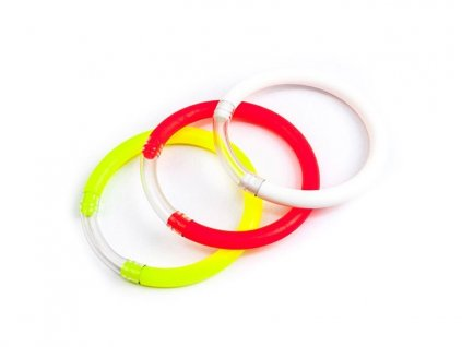 Signalizátor záběru okrúhly - kroužek 1 ks (barva žlutá, bílá, červená)