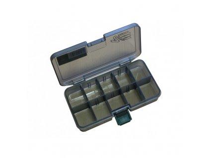 Versus Rybářský box VS černý, M 16,1x9,1x3,1 cm