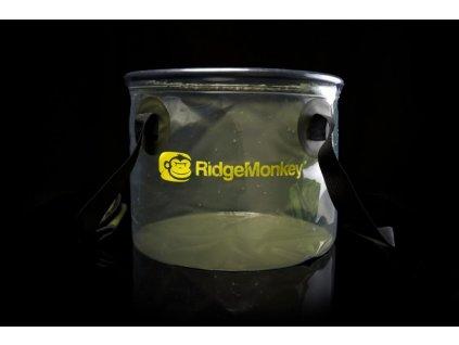 RidgeMonkey Perspective Collapsible Bucket , skládací kýbl 10l