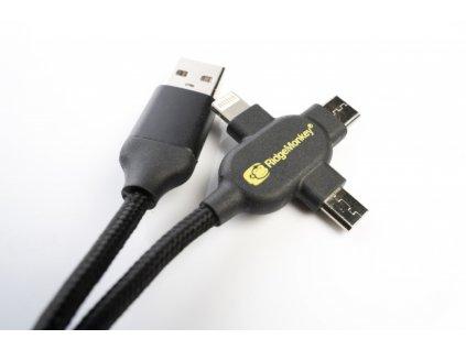 Napájecí kabel USB A to Multi out 2m