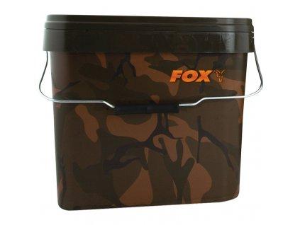 Fox Kbelík Camo Square Buckets - 5 l