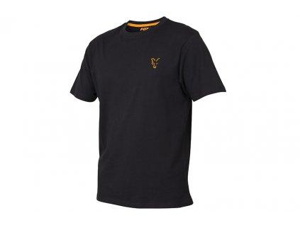 Fox Triko Collection Orange & Black - vel. 3XL