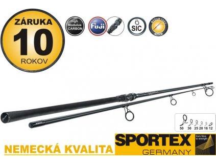 Rybářský prut SPORTEX Catapult Spod Dvoudílný - 395cm, 5,5lbs, tr. délka 203cm