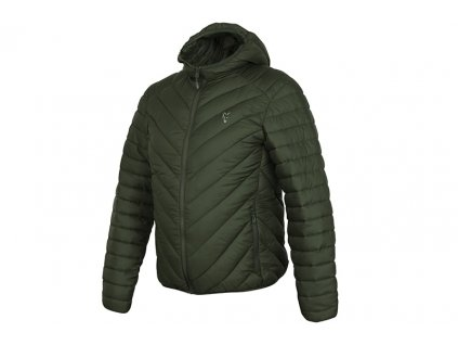 Fox Bunda Collection Quilted Jacket Green/Silver, vel. M