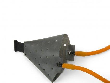 Fox Náhradní guma s košíkem + 2 konektory k praku Rangemaster Powerguard Catapult