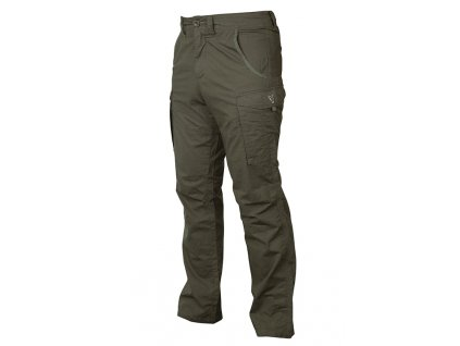 Fox Kalhoty Collection Green & Silver Combat Trousers vel. XL
