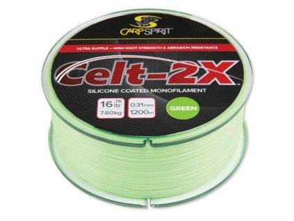 Carp Spirit Celt 2X Mymetik 1400 m 0,285 mm 6,45 kg zelený