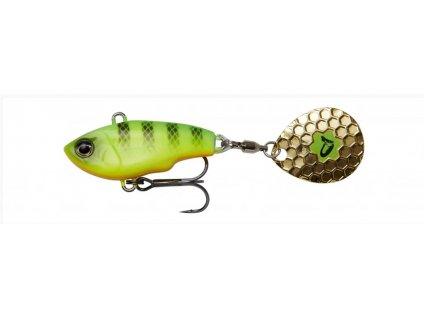 Savage Gear Wobler Fat Tail Spin Sinking Firetiger 5,5cm 9g