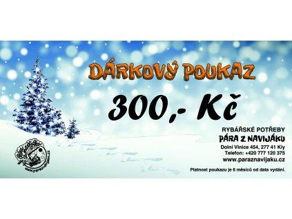 Vánoční poukaz 300 Kč