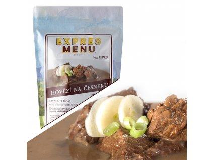 Expres Menu Hovězí na česneku 300 g 1porce