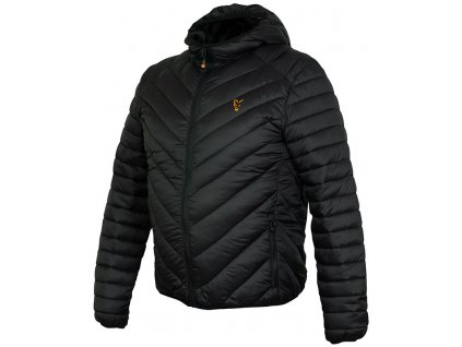 Fox Bunda Collection Quilted Jacket Black/Orange, vel. S