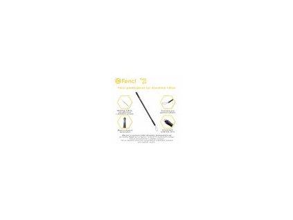 Fencl podběráková tyč dvoudílná 120 cm