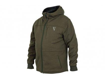 Fox Mikina Collection Sherpa Hoody Green/Silver vel. XXL