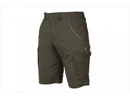 Fox Kraťasy Collection Green & Silver Combat Shorts vel. L