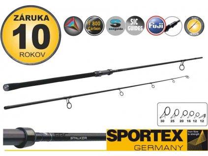 SPORTEX FBC CS-3 Stalker 300cm 3,00lbs 2díl