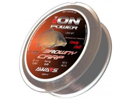 Awa-Shima ION POWER BROWNY CARP 1200m 0,350 mm