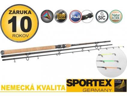 Sportex Xclusive Medium Heavy Feeder NT 360cm 100-190g