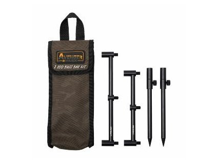 Prologic Set Vidliček A Hrazd Avenger Rod Buzz Bar Kits Carrycase 2