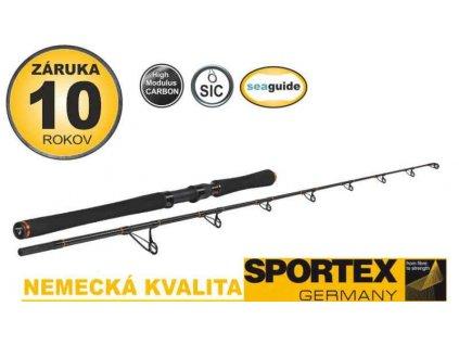SPORTEX Catfire Vertical 2díl, 180cm, 90 až 200g