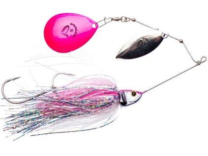 Savage Gear Třpytka Da'Bush Spinnerbait Pink Flash 14cm 21g