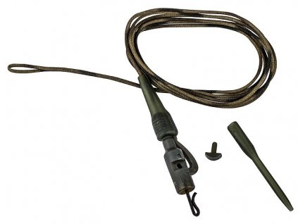 Prologic Olověnka Safety Clip QC Swivel Metal Core Leader 45 lb 3 ks
