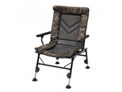 Prologic Křeslo Avenger Comfort Camo Chair W/Armrests & Covers