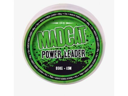 MADCAT  Návazcový vlasec Power Leader 0,80mm 15 m 80kg