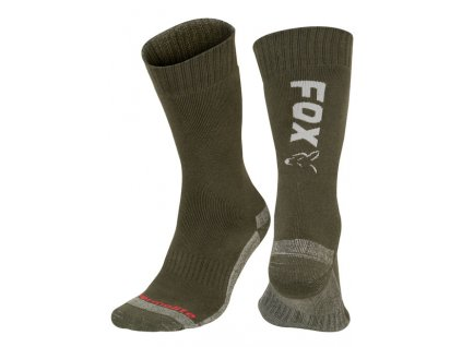 Fox Ponožky Collection Thermolite long sock Green/Silver 40-43