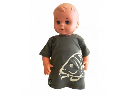 R-spekt Baby triko khaki 12-18 měs