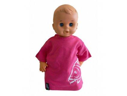 R-spekt Baby triko pink 6-12 měs