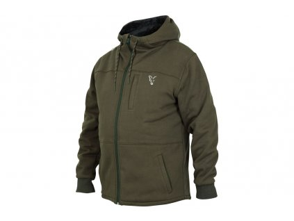Fox Mikina Collection Sherpa Hoody Green/Silver vel. L