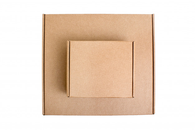 top-view-cardboard-boxes-isolated-white_72474-380