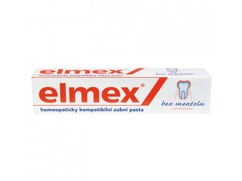 Elmex Zubní pasta bez mentolu