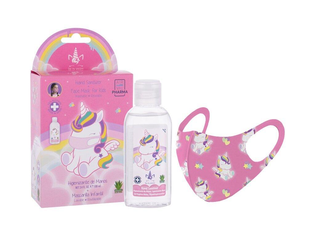 Eau My Unicorn Eau My Unicorn - dezinfekční gel na ruce 100 ml + rouška 1 ks