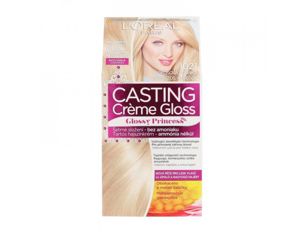 di ANGELO cosmetics Casting Creme Gloss Glossy Princess - (1021 Coconut Baby) barva na vlasy