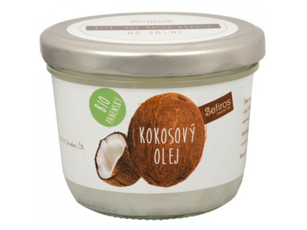 Sefiros Kokosový olej - BIO panenský