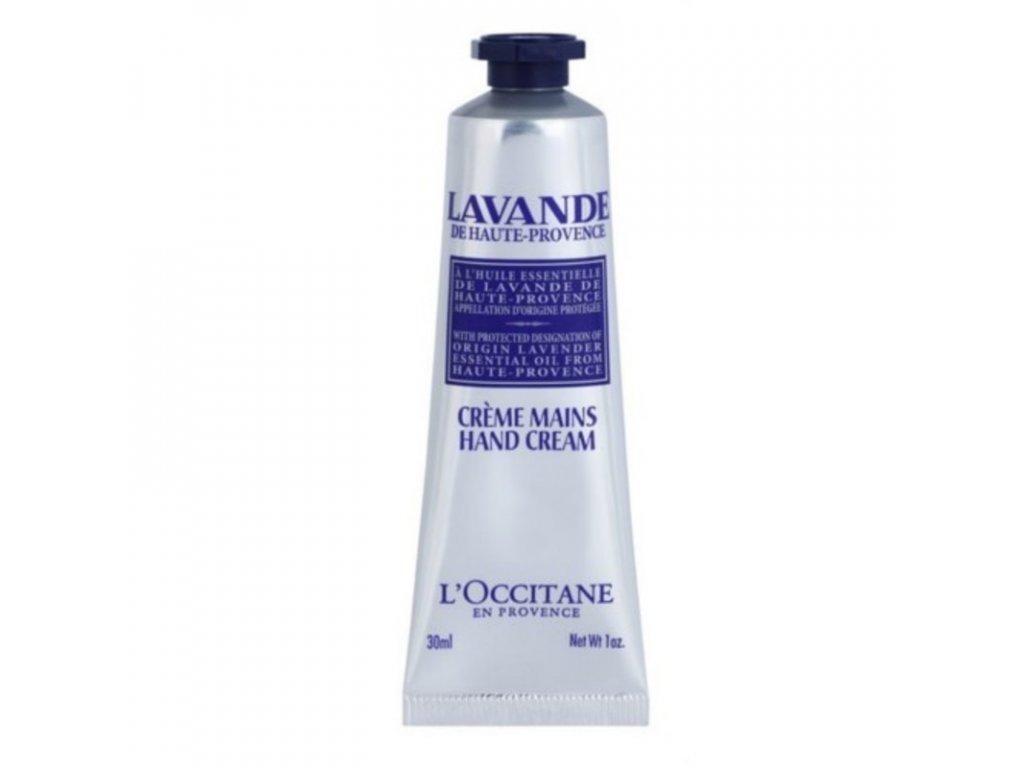 L`Occitane en Provence Krém na ruce a nehty s bambuckým máslem Lavande - (Hand Cream)