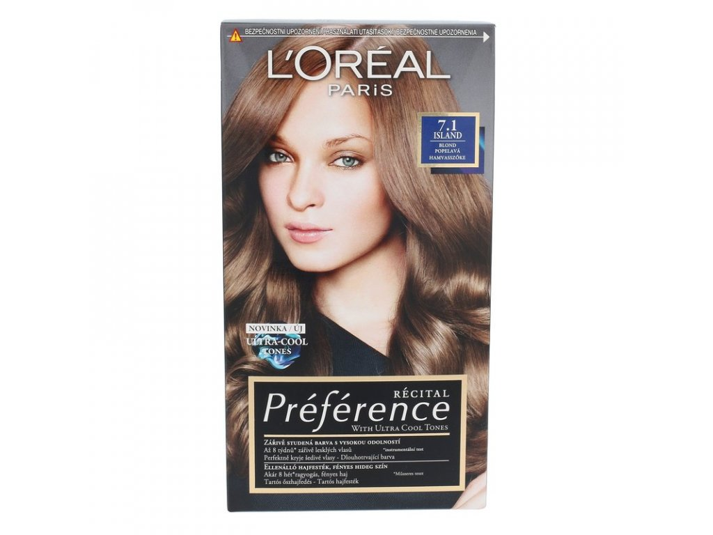 LOREAL Préférence Récital - (7.1 Island) barva na vlasy