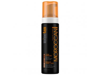 Minetan Samoopalovací pěna pro velmi tmavé opálení Moroccan - (Super Dark 1 Hour Express Tan)