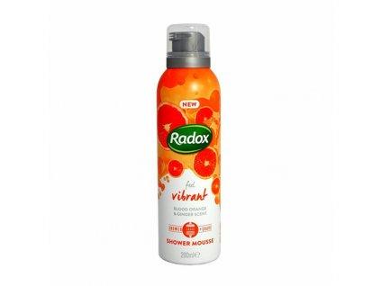 Radox Sprchová pěna Feel Vibrant - (Shower Mousse)