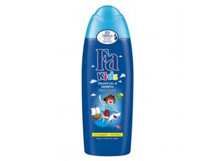 Fa Sprchový gel a šampon se svěží vůní Kids - (Shower Gel & Shampoo)