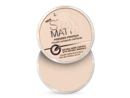 Rimmel London Stay Matte - (006 Warm Beige) Matující kompaktní pudr